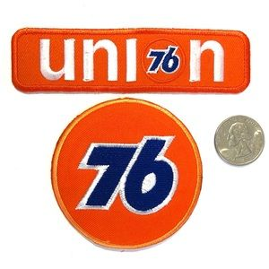 Union76 patch bundle Badge petroleum Badge diy